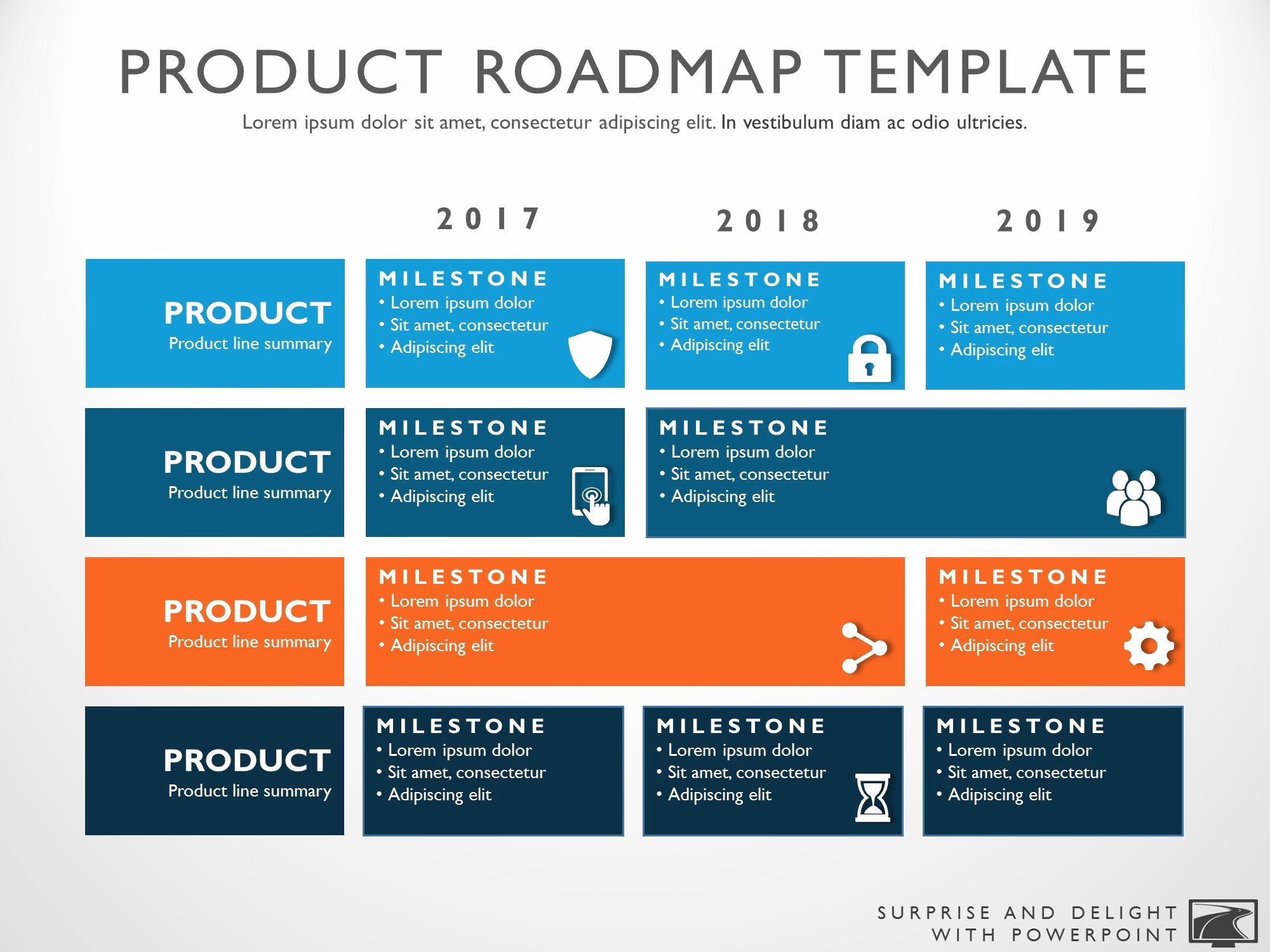 Strategy Plan Template Powerpoint Luxury Three Phase Business Planning Timeline Roadmapping