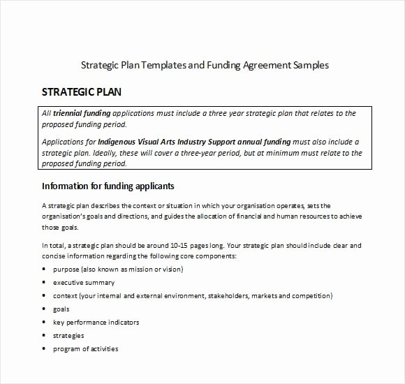 Strategy Plan Template Word Awesome top 5 Resources to Get Free Strategic Plan Templates