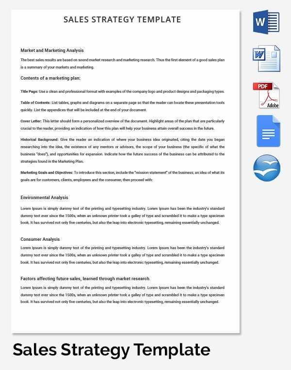 Strategy Plan Template Word Beautiful Hr Strategy Template 39 Word Pdf Documents Download