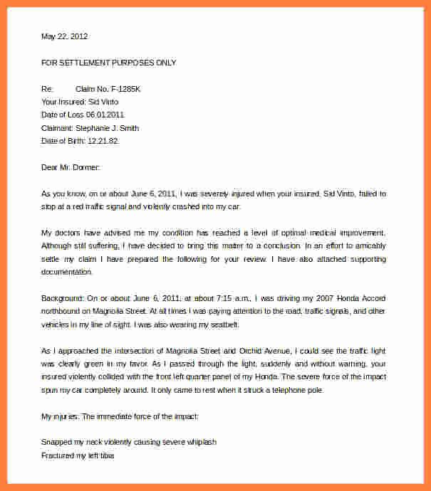 Strong Demand Letter for Payment Awesome 4 Workers Pensation Settlement