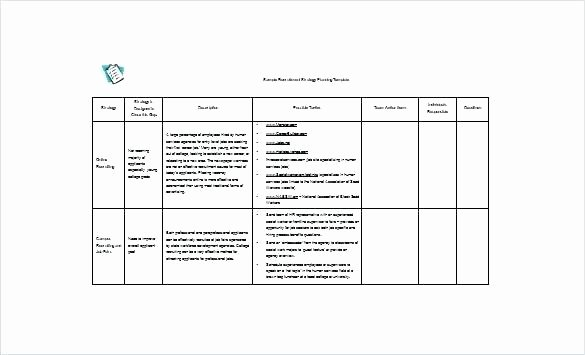 Student Recruitment Plan Template New Sample Recruitment Plan Action Example Opportunity