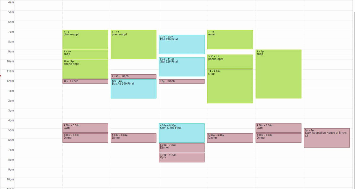 Study Plan Template for Students Awesome How to Create A Study Schedule for Your Final Exams