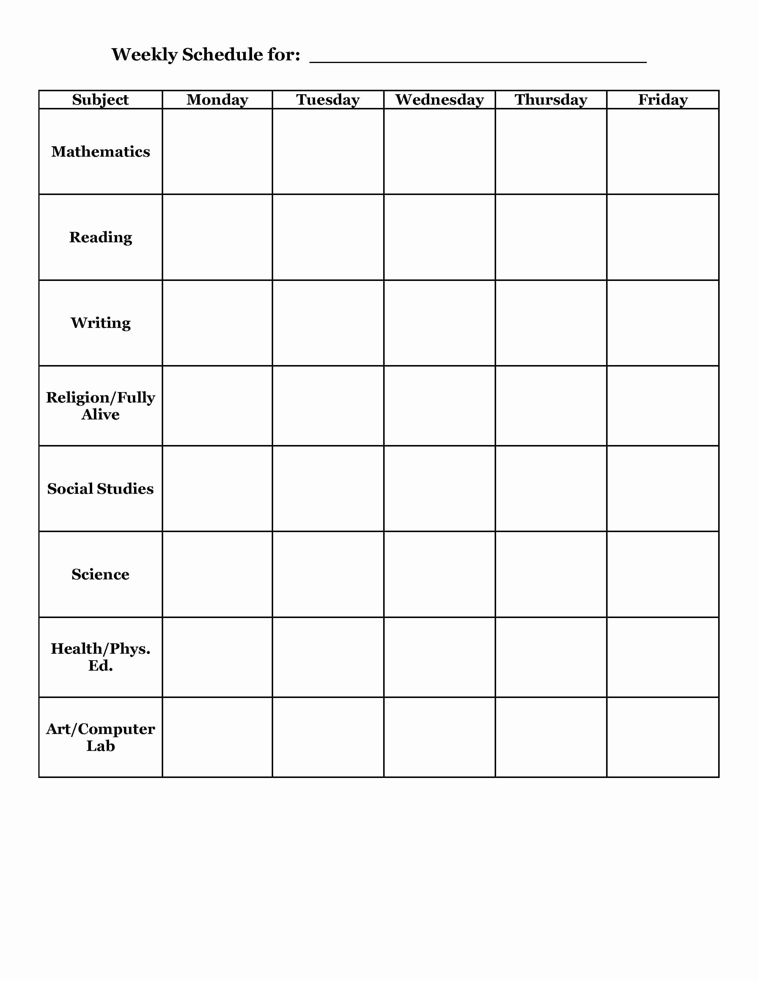 Study Plan Template for Students Awesome Student Planner Templates