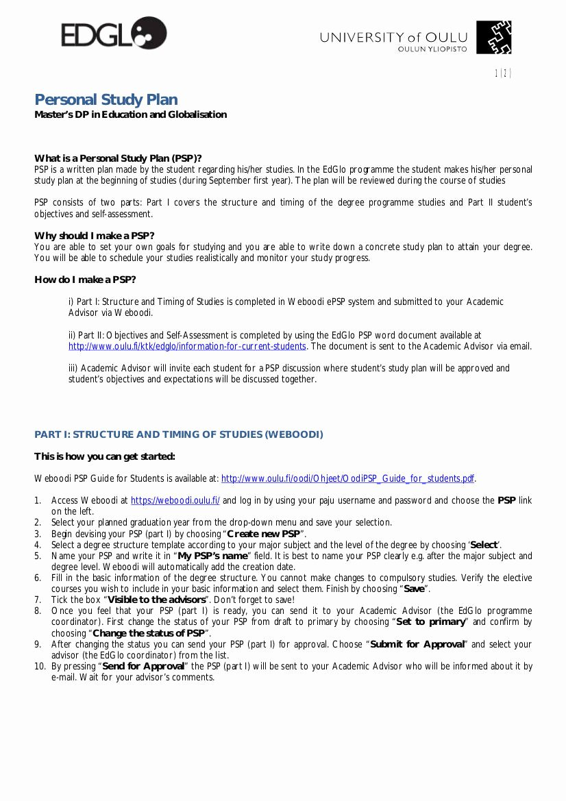 Study Plan Template for Students Lovely 9 Study Plan Templates for Students