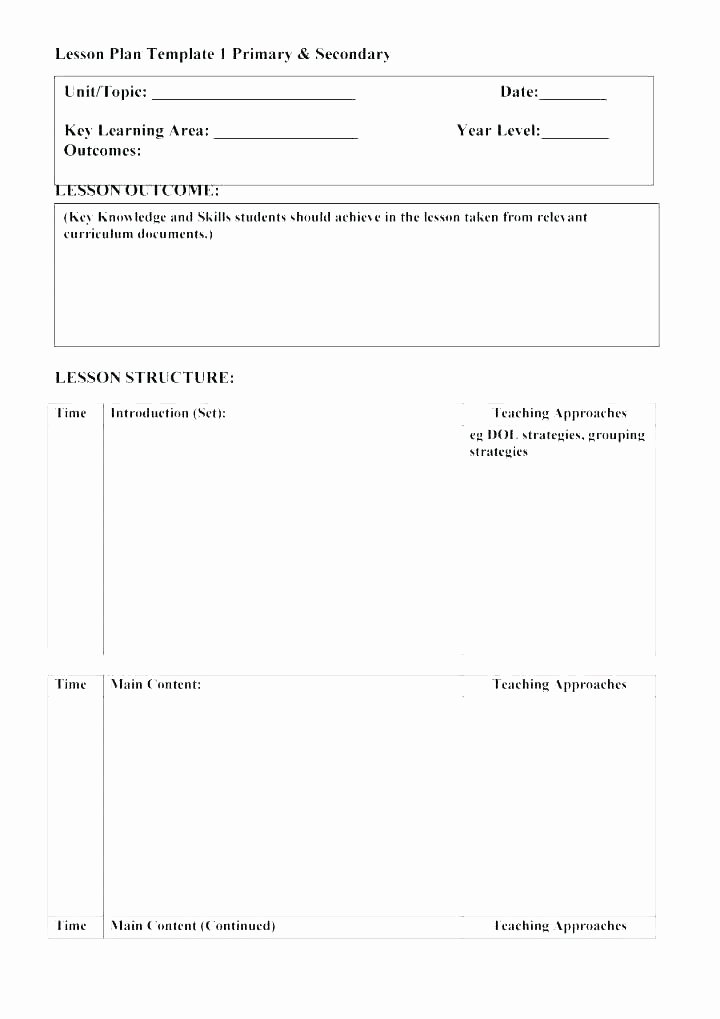 Substitute Teacher Plan Template New Substitute Teacher Plans Template Free Lesson Plans for