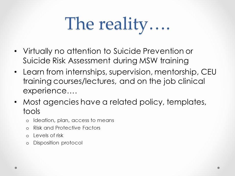 Suicide Safety Plan Template Fresh Richard L Roudebush Va Medical Center Ppt