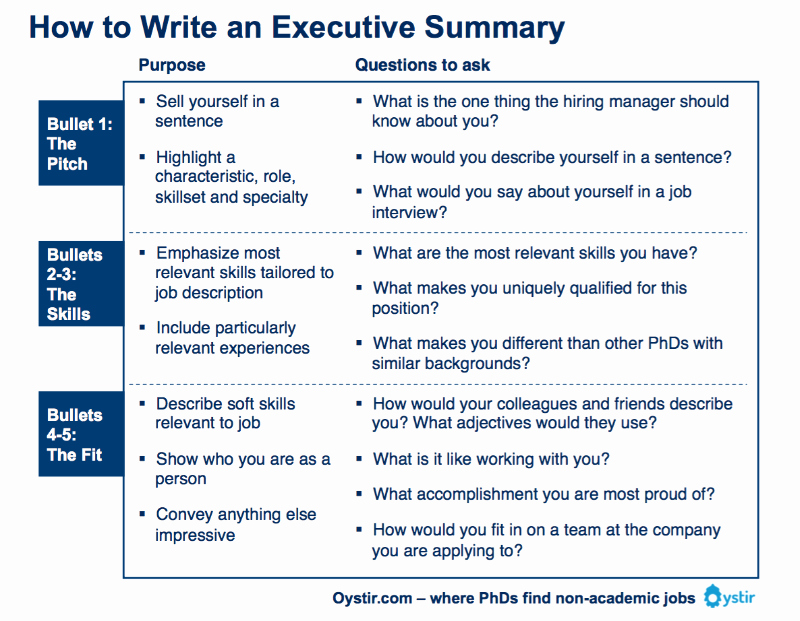 Summary Plan Description Template Fresh Image Result for Executive Summary format
