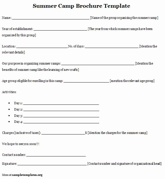 Summer Camp Lesson Plan Template Beautiful 508 Resource Limit is Reached