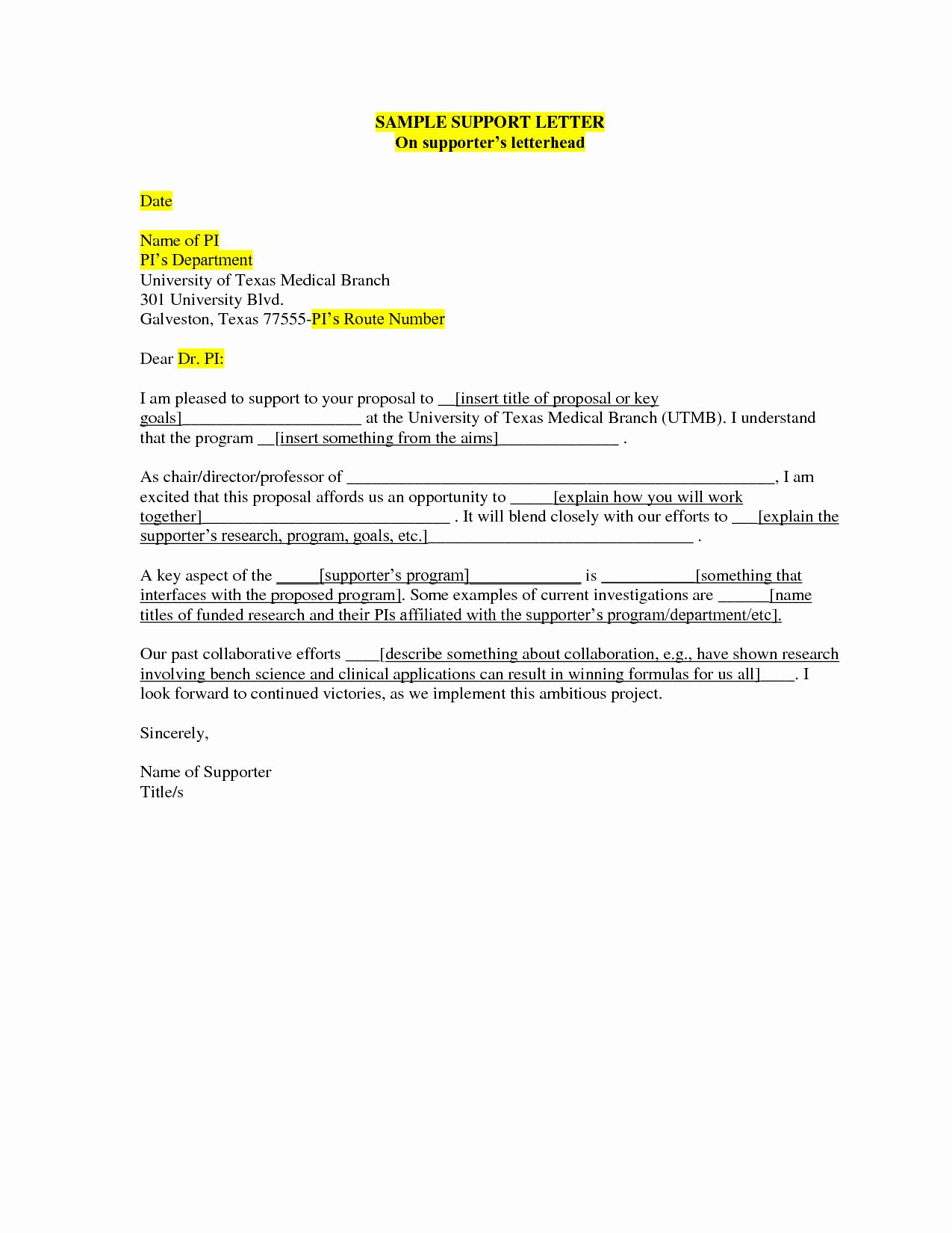 Support Letter Template for Missions Best Of Mission Support Letter Template Examples