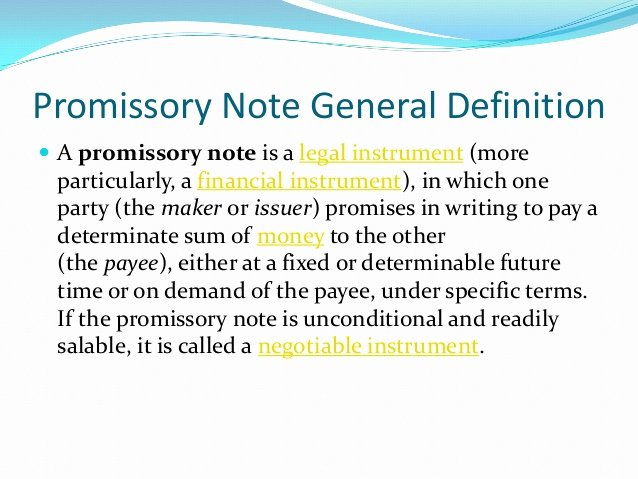 Suze orman Promissory Note Inspirational to Write A Promisory
