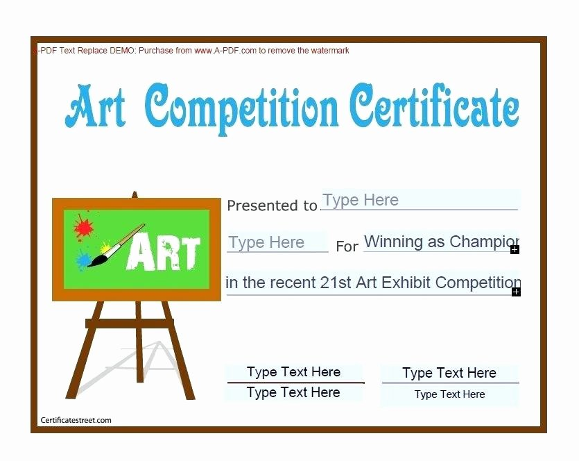 Talent Show Participation Certificate Awesome Diploma Certificate Template with Colorful Frame for