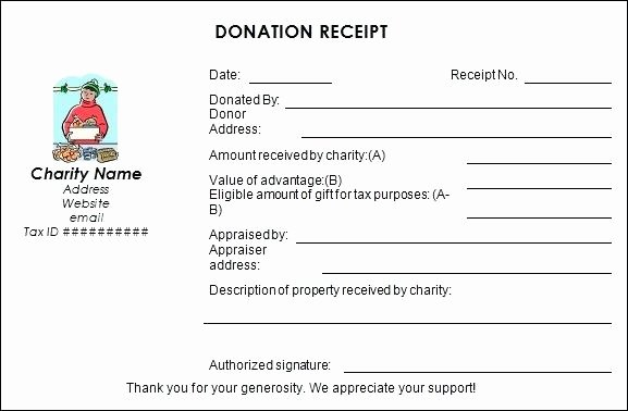 Tax Deductible Donation Receipt Template Inspirational 16 Donation Receipt Template Samples Templates assistant