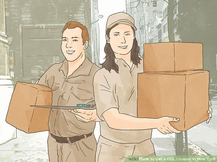 Tax Deductions for Courier Drivers Luxury How to Get A Cdl License In New York with Wikihow
