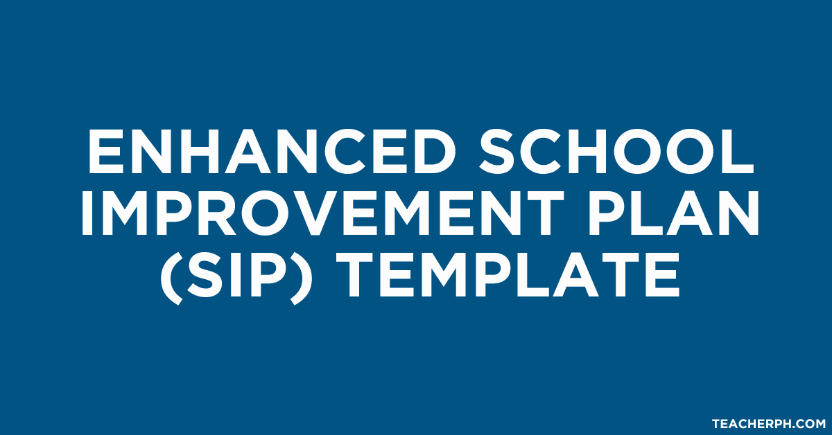 Teacher Improvement Plan Template New Enhanced School Improvement Plan Template Teacherph