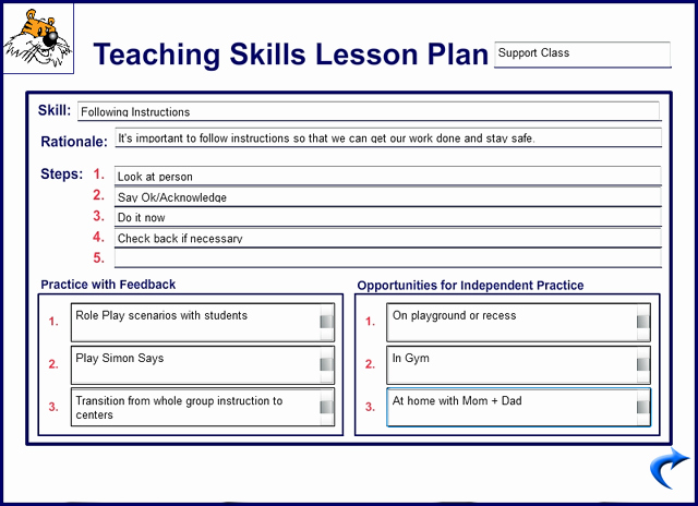Teacher Lesson Plan Template Unique Kidtools Missouri See tool