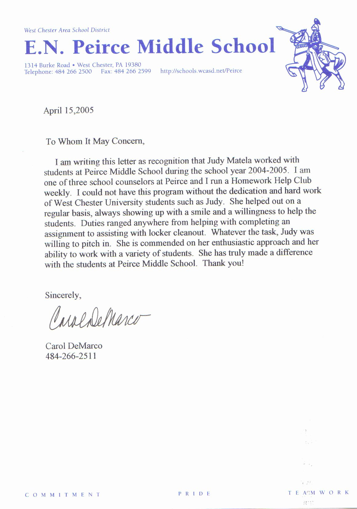 Teacher Letter Of Recommendation Sample New Sample Letter Of Re Mendation for Teacher
