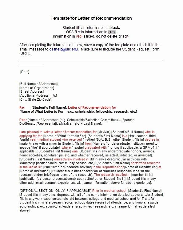 Teacher Recommendation Letter for Student Luxury 50 Amazing Re Mendation Letters for Student From Teacher