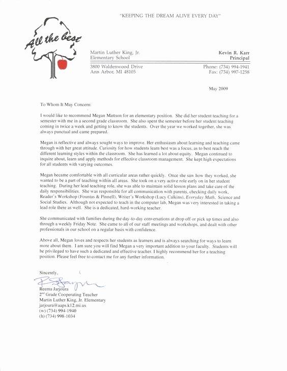 Teacher Recommendation Letter Sample Inspirational Pinterest • the World's Catalog Of Ideas