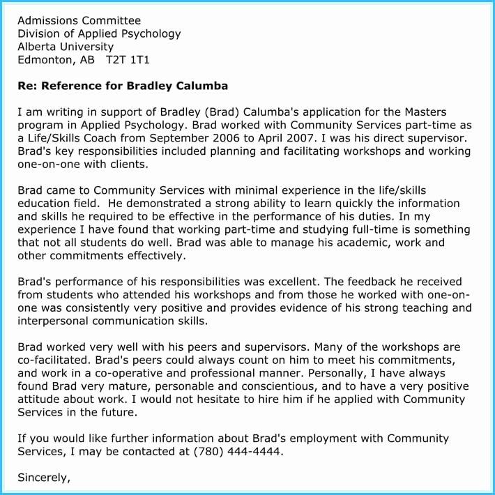Teacher Recommendation Letter Sample New Writing A Reference Letter for Teacher 6 Sample Letters