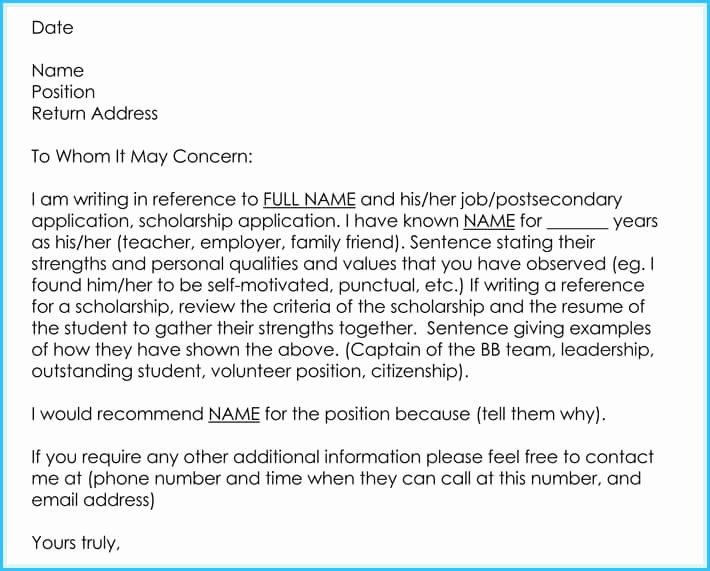 Teacher Recommendation Letter Samples Best Of Writing A Reference Letter for Teacher 6 Sample Letters