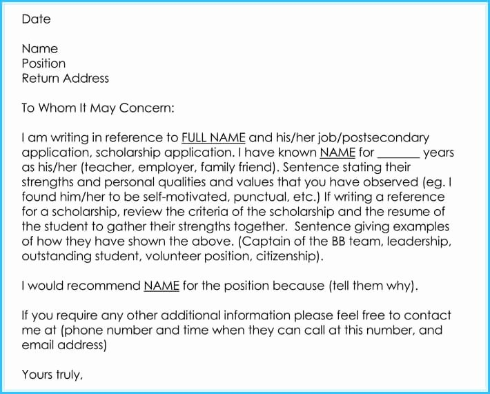 Teaching Letter Of Recommendation Template Awesome Writing A Reference Letter for Teacher 6 Sample Letters