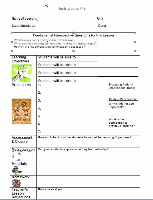 Team Lesson Plan Template Lovely Team Lesson Plan Template Tennessee Globalsacredcircle