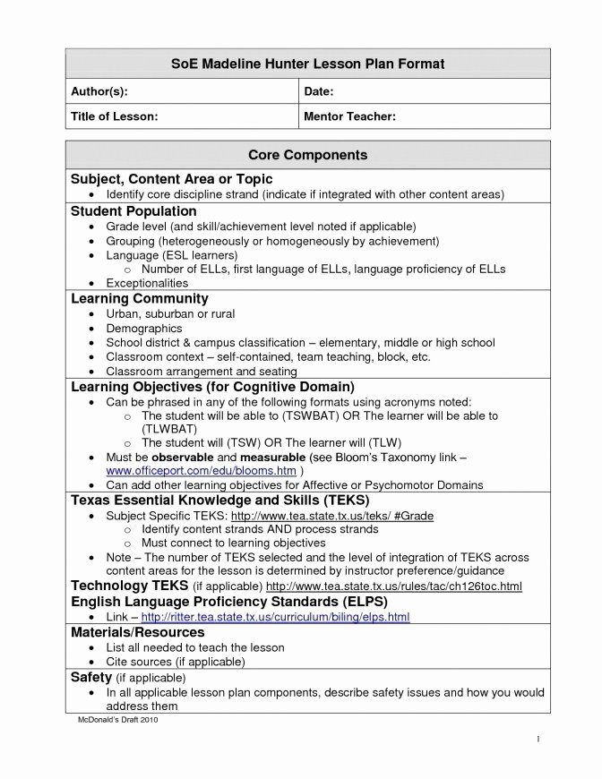 Team Lesson Plan Template Luxury Team Tn Lesson Plan Template Team Lesson Plan Template Tn