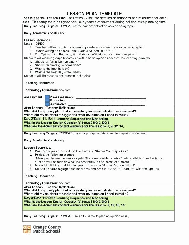 Team Lesson Plan Template New Technology Integrated Lesson Plan Example Music Worksheets