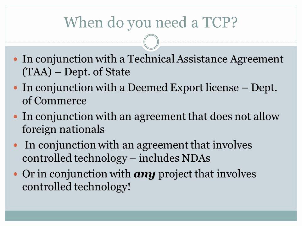 Technical assistance Agreement Sample Elegant Export Control Ficer Ppt Video Online