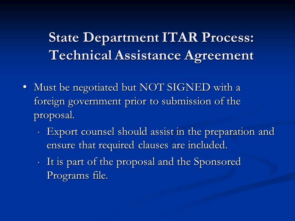 Technical assistance Agreement Sample Fresh Itar Technical assistance Agreement Template