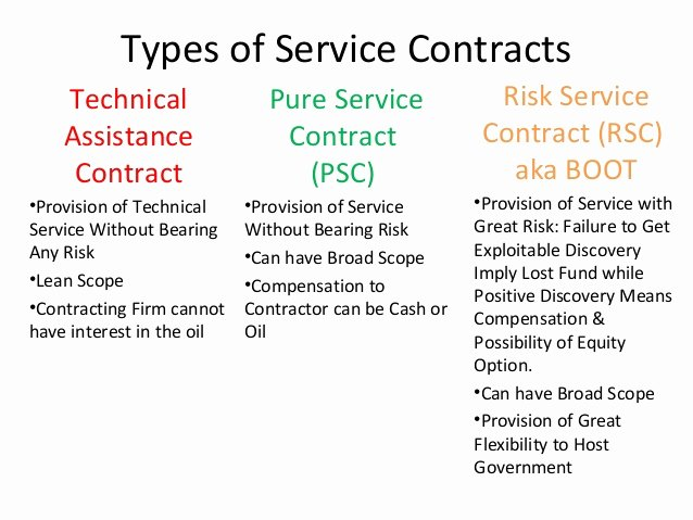 Technical assistance Agreement Sample Fresh Production Agreements Oil Service Contracts & Joint Ventures
