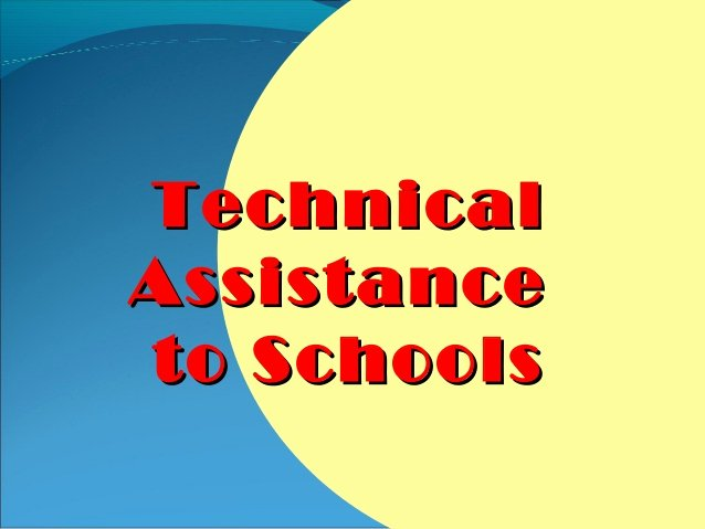 Technical assistance Agreement Sample Inspirational Technical assistance to Schools
