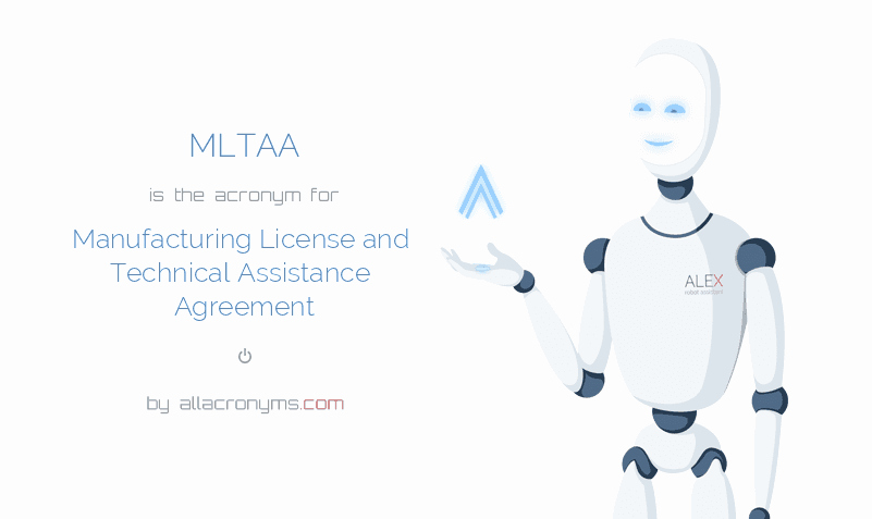 Technical assistance Agreement Sample Luxury Mltaa Manufacturing License and Technical assistance