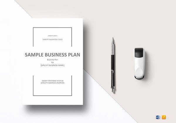 Technology Business Plan Template Luxury 9 Sample Sba Business Plan Templates