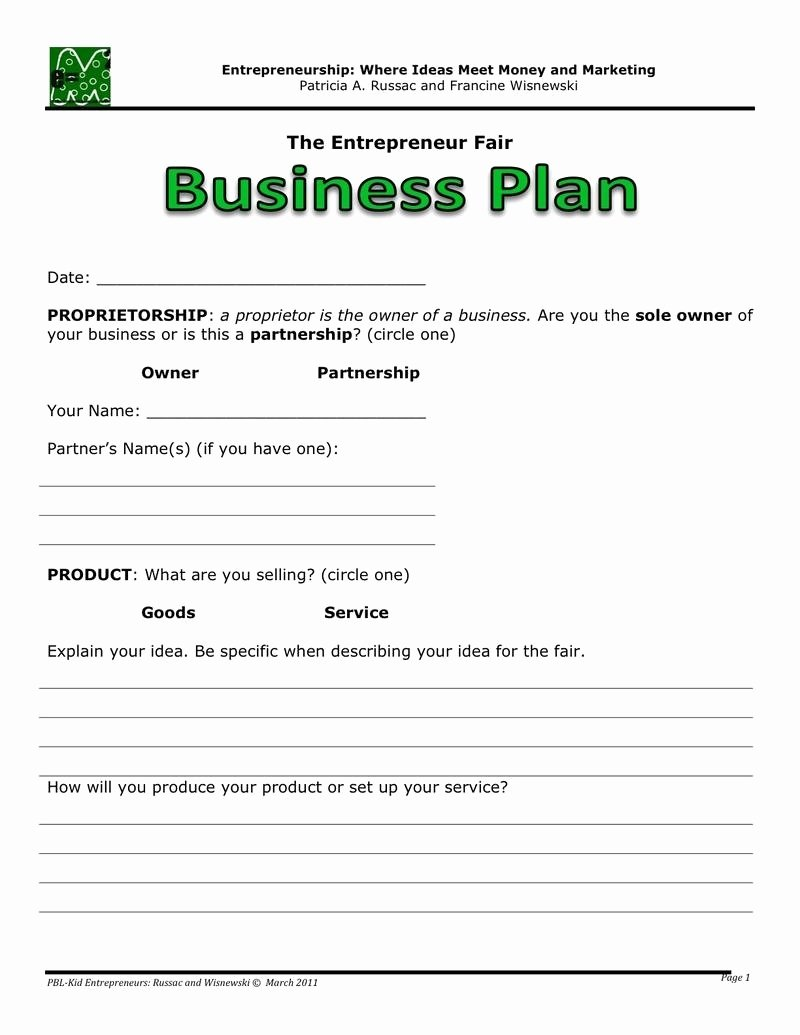 Technology Business Plan Template New Easy Business Plan Template Beepmunk