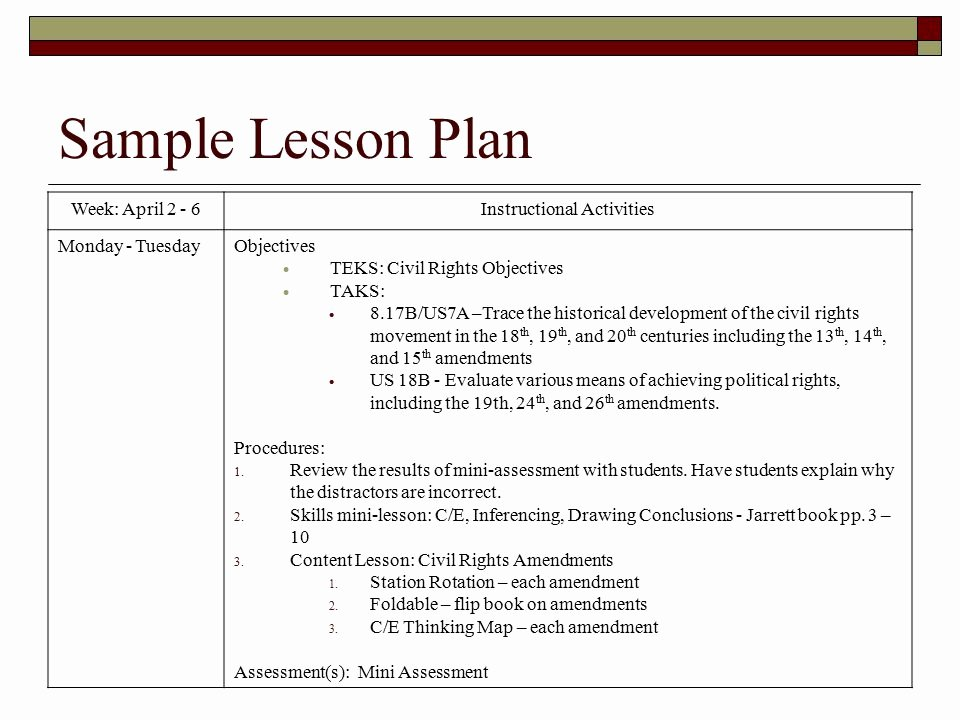 Teks Lesson Plan Template Lovely Teks Lesson Plan Template Idealstalist