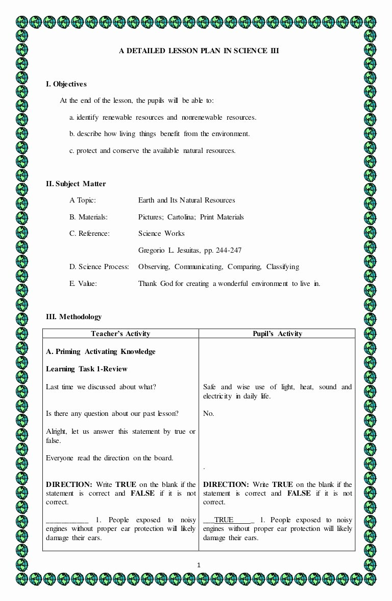 Teks Lesson Plan Template New Realistic Gallery Teks Lesson Plan Template
