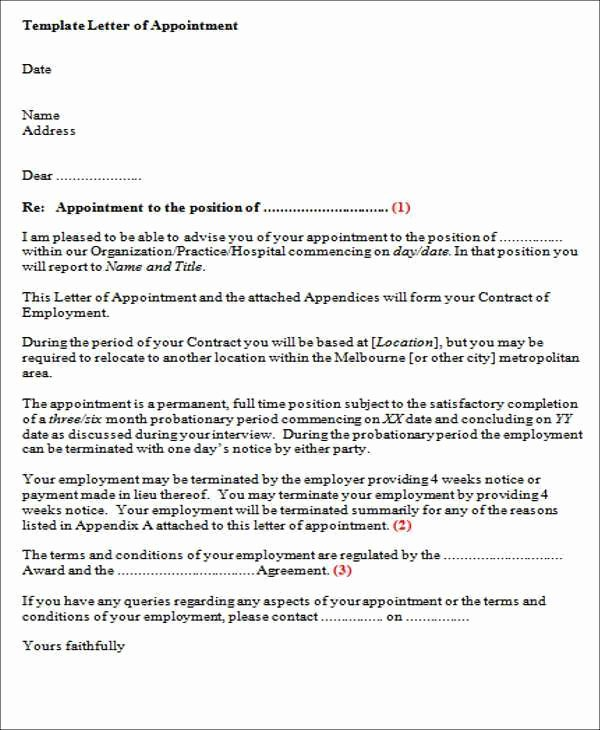 Temp to Perm Offer Letter Awesome Sample Employment Fer Letter with Probationary Period