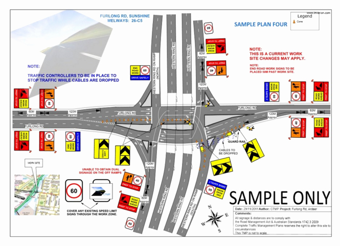 Temporary Traffic Control Plan Template Elegant Traffic Plans
