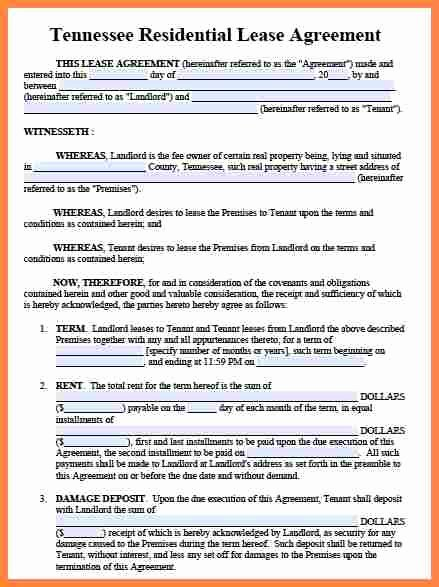 Tenant Buyout Agreement Example Awesome 9 Tenant Landlord Lease Agreement Template