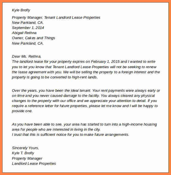 Tenant Buyout Agreement Inspirational 8 Termination Of Rental Agreement Letter by Tenant