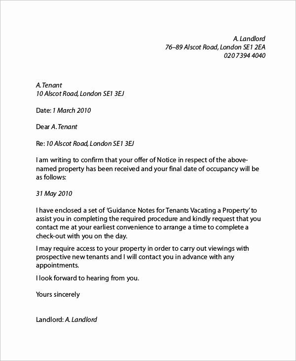 Tenant Letter Of Recommendation Elegant 6 Sample Landlord Reference Letters