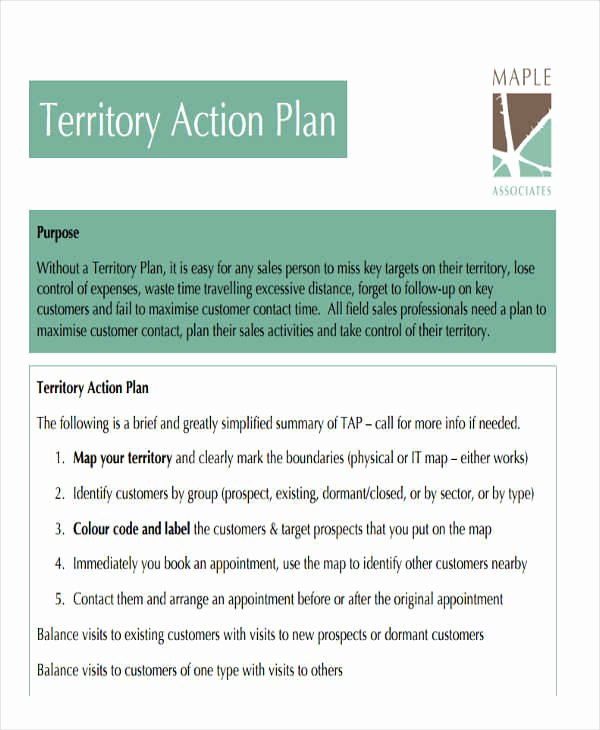 Territory Sales Plan Template Awesome 27 Sales Plan Examples
