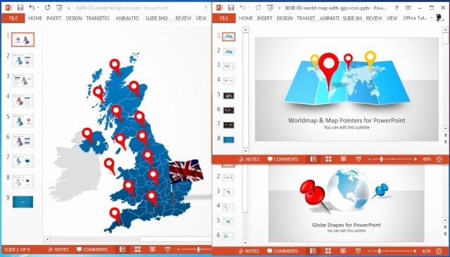 Territory Sales Plan Template Awesome Make Sales Plans with Editable Territory Maps for Powerpoint