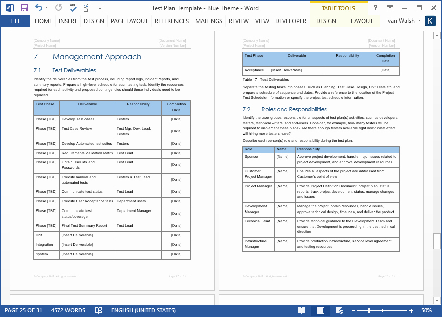 Test Plan Template Excel Inspirational Test Plan – Download Ms Word & Excel Template