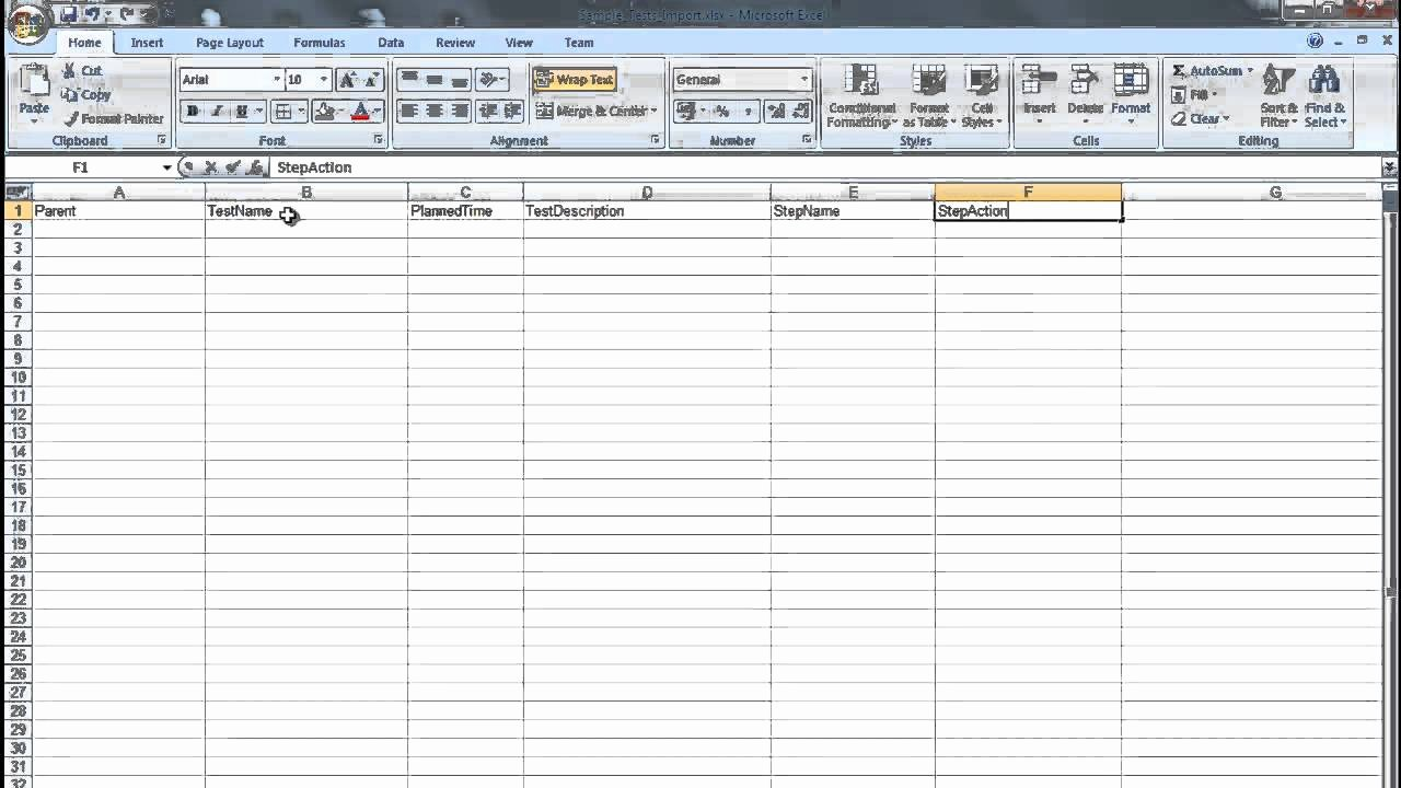 Test Plan Template Excel Unique Test Plan Template Excel