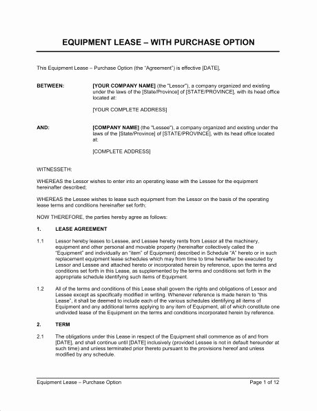 Texas Grazing Lease Agreement Template Lovely Lease Purchase Agreement form Texas Templates Resume