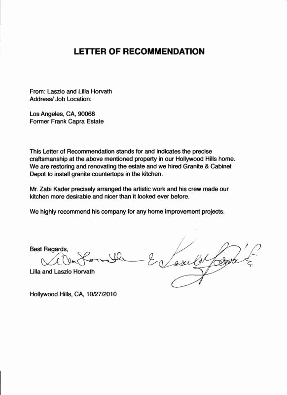 Thank You for Recommendation Letter Elegant Letters to Landlord