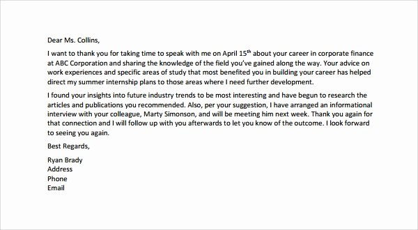 Thank You Letter Recommendation New Sample Thank You Letter for Re Mendation 9 Download