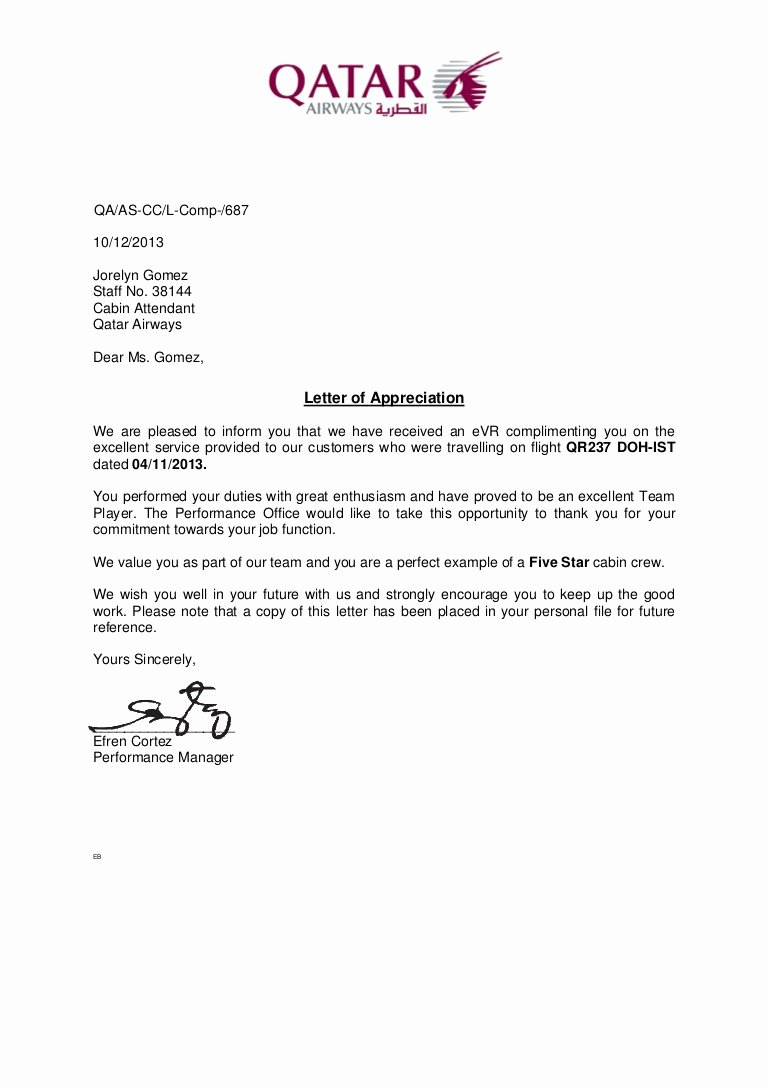 Thanks for Recommendation Letter Best Of Letter Of Appreciation 2013nov04